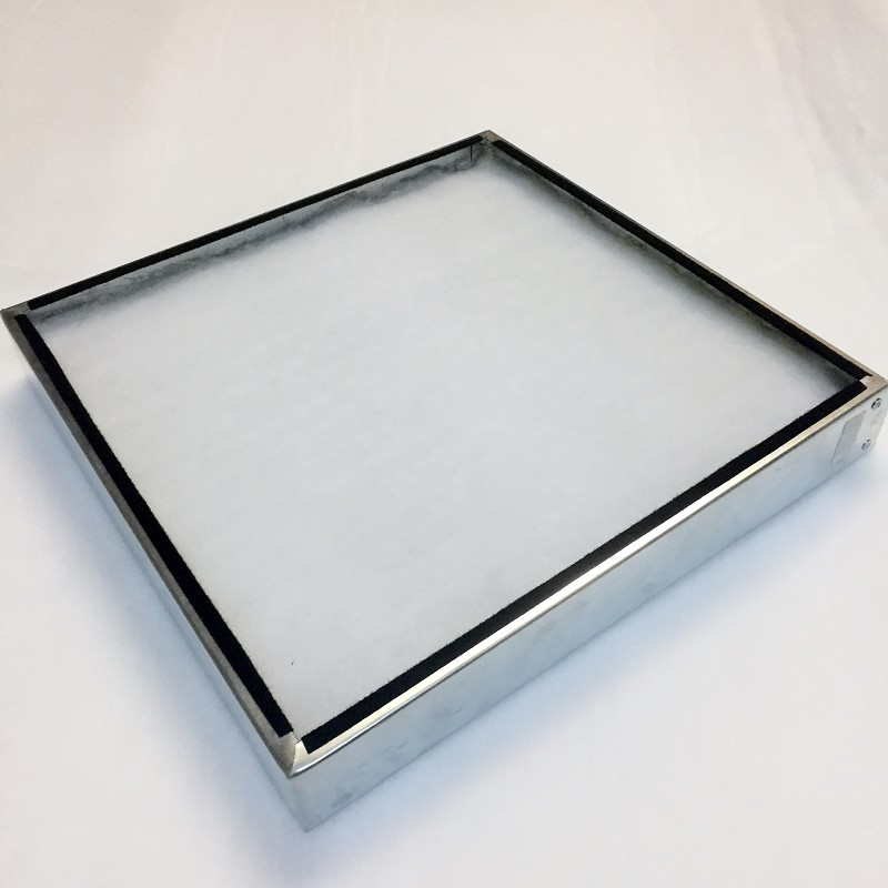 Replacement Pleated Washable Filter & Metal Frame.  Set of 3 Filters.