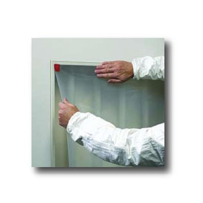 Paint Booth Glass Film