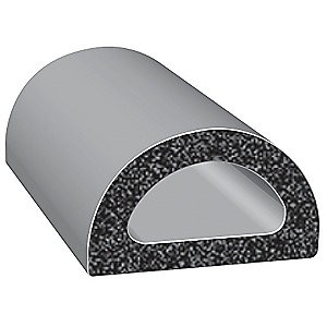 D Shaped Paint Booth Door Seals 10 Long To Fit Any Booth